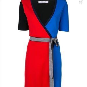 Diane von Ferstunberg wrap dress